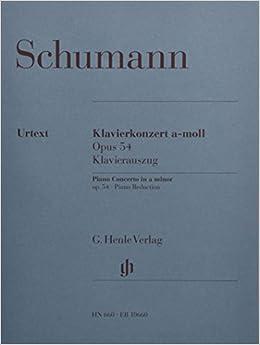 シューマン: ピアノ協奏曲 イ短調 Op.54/ヘンレ社/ピアノ・ソロ