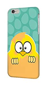 E2508 Cute Cartoon Egg Chick Funda Carcasa Case para IPHONE 6S PLUS