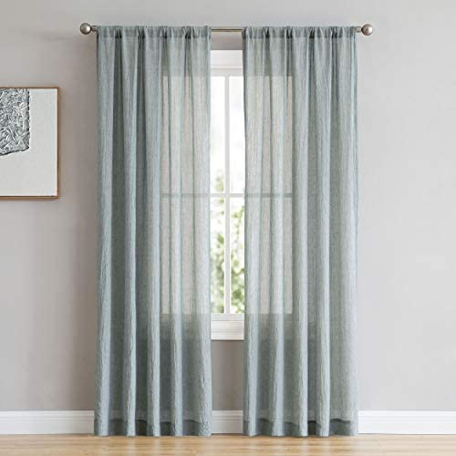 French Connection Rosa Window Curtain Panel Pair