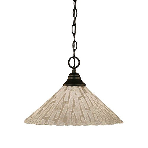 Toltec Lighting 10-MB-719 Chain Hung Pendant with 16