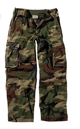 BlackC Sport Kids Vintage Paratrooper Fatigue Camo Pants
