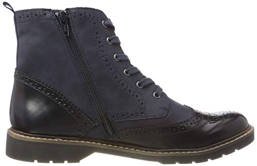 891 Boots Combat Women's Oliver Comb 21 Blue 25465 Navy s aw1B4xqx