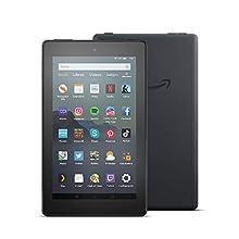 Tablet Fire 7, pantalla de 7'', 32 GB (Negro) - Incluye ofertas especiales