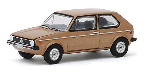 Greenlight 30099 1977 Volkswagen Rabbit - The Champagne Edition Hobby Exclusive 1/64 Scale