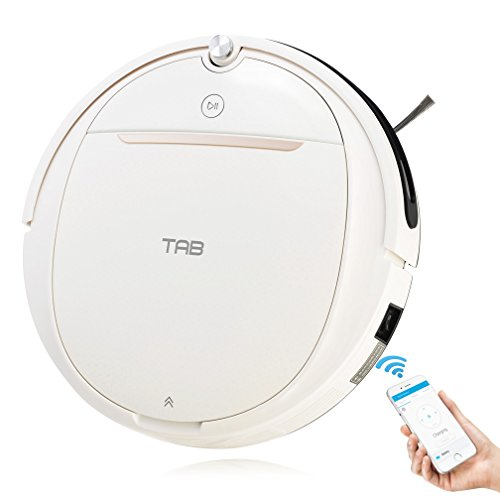 leaner with Strong Suction, Wi-Fi Connected, Water Tank&Mop, Self-Charging, for Low-Pile Carpet, Hard Floor ()