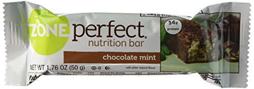 Zone Perfect Nutrition Bars Chocolate Mint - 5 CT by Zone Perfect