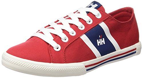 Helly Hansen Berge Viking Low, Zapatillas de Deporte Exterior para Hombre Rojo (Red)