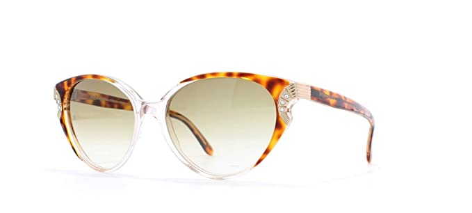 63759db76a Image Unavailable. Image not available for. Color  Ysl 5005 564 Clear Certified  Vintage Rectangular Sunglasses ...