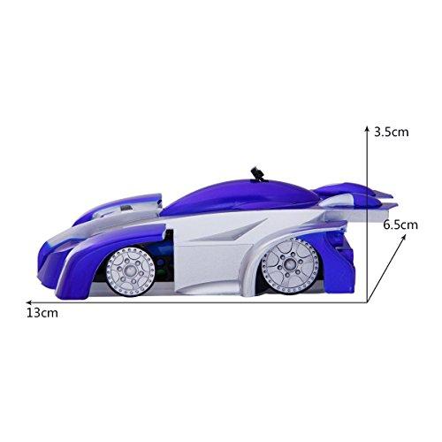 Trepador Rc Tonor 4ch Azul La Juguete Carrera Coche De Control Remoto Cohete Pared Escalar EHY2DW9I