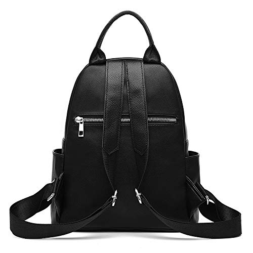 The Student Anti Leather Shuangjian Bag Backpack Fashion Casual Women's Shoulder Of Korean Handbags Version New theft wFqYwZ7