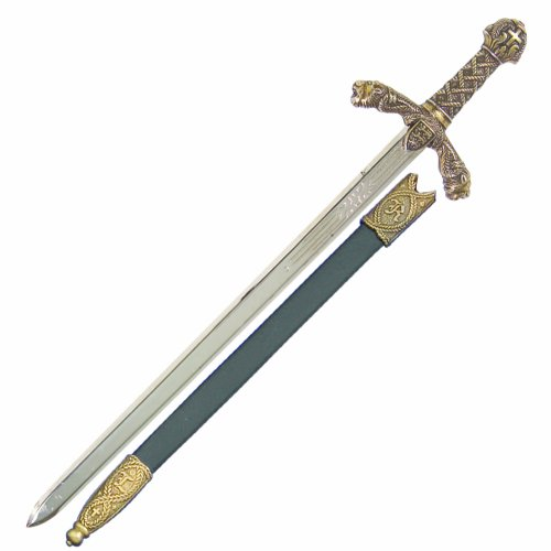 Denix Richard The Lion Heart Letter Opener with Scabbard