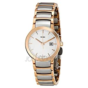 Amazon.com: Rado Centrix Rose Gold-tone Ladies Watch ...