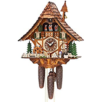 Amazon Com German Cuckoo Clock 8 Day Movement Chalet