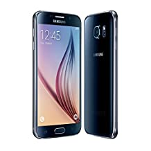 Samsung Galaxy S6, 64GB, Black, (SM-G920W8), Unlocked