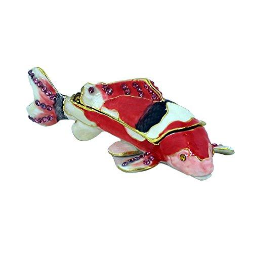 Fish Trinket (Koi Fish Trinket Box Bejeweled)