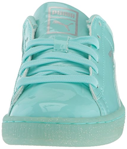 Puma Basket Patent Iced Glit Jr Pelle sintetica Scarpe ginnastica