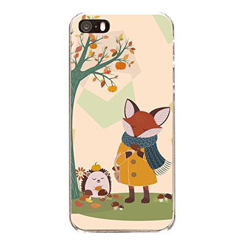 "Disagu Design Case Coque pour Apple iPhone 5 Housse etui coque pochette ""Herbstfuchs"""