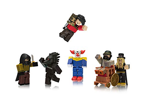 Roblox Werewolf Costume Roblox Action Collection Night Of The Werewolf Six Figure Pack Includes Exclusive Virtual Item From Amazon Fandom Shop