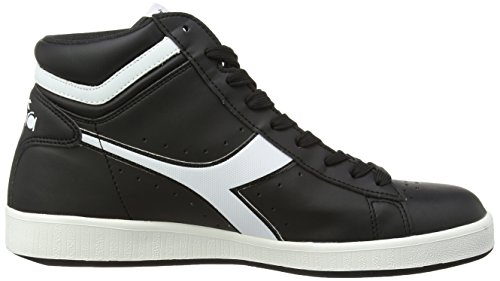 Adulto a P Nero Unisex Game Diadora High Collo Alto Sneaker x7Pf6S