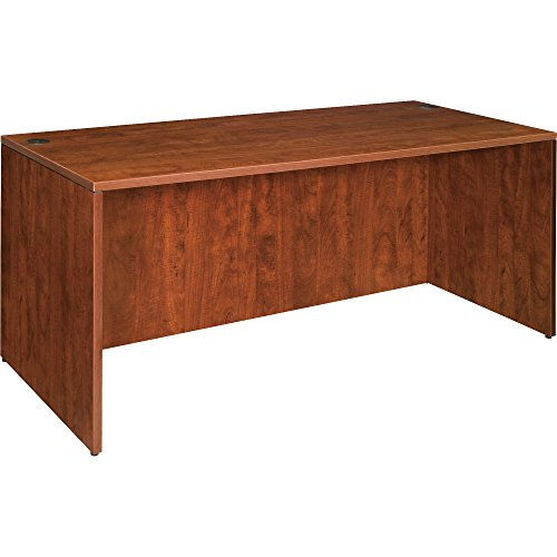 Lorell Desk Shell, 66 by 30 by 29-1/2-Inch, Cherry