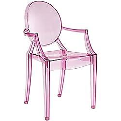 Modern Acrylic Dining Armchair