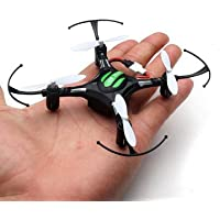 Remote Control Aircraft - Mini Headless Mode 2.4G 4CH 6 Axis RC Quadcopter RTF (Black) by DOM - Remote Control Aircraft