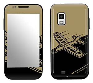Zing Revolution MS-BG30274 Benny Gold - Glider Cell Phone Cover Skin for Samsung Fascinate Galaxy S (SCH-I500)