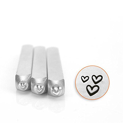 ImpressArt- Hearts Metal Stamp Pack by ImpressArt