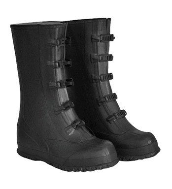 Boss Five Buckle Rubber Boots Over The Shoe 14 In. Tall Metal Buckles