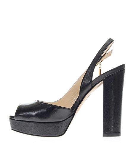 Sandalo Nero Toe Tacco 22222 Jo Open Sandali TC Nori Donna Liu 120 S17059P0062 7TYgxw