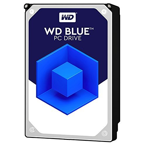 WD Blue 1TB SATA 6 Gb/s 7200 RPM 64MB Cache 3.5 Inch Desktop Hard Drive (WD10EZEX) (Certified Refurbished) by Western Digital (Image #1)