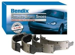 Bendix R514 Relined Brake Shoe Set