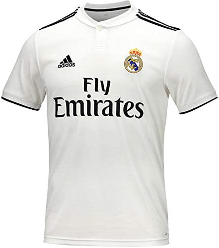 adidas Real Madrid Home Shirt Camiseta, Hombre: Amazon.es ...