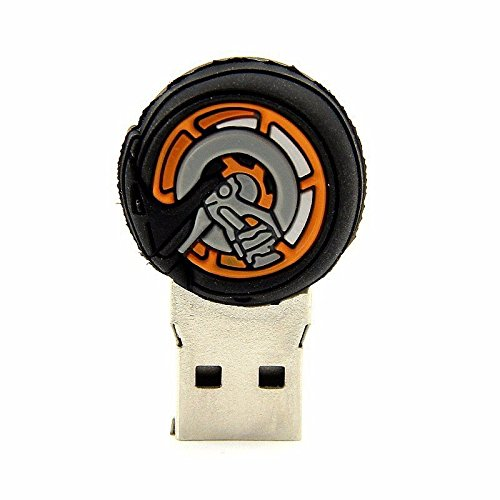 ARBUYSHOP U llaves del coche Mini Disk de memoria impulsión de la pluma del regalo llavero USB 2.0 de 16 GB 32 GB 64 GB USB Flash Drive de la historieta del ...
