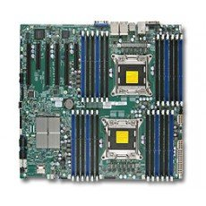 Supermicro X9DRI-LN4F+-O Dual LGA2011 /Intel C602/ DDR3/ SATA3/ V&4GbE/ EATX Server Motherboard
