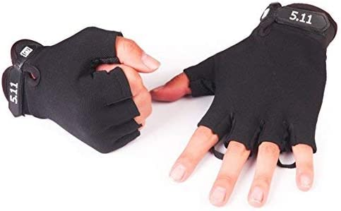 Full Finger Gloves Mens Anti-Slip Tactical Sports Gloves Bicycle Riding Half
