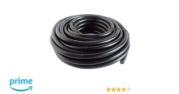 Cevik CE-CABLECOBRE25 - Cable soldadura 10m. 25mm2.: Amazon.es: Bricolaje y herramientas