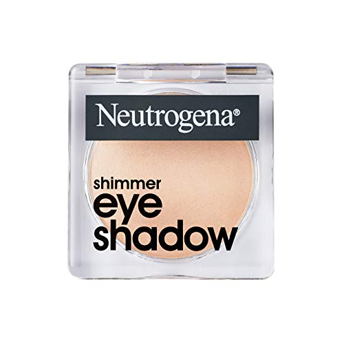 Neutrogena Shimmer Eye Shadow with Antioxidant Vitamin E, Easy-to-Apply Eye Makeup with a Shimmery Finish, Silk Stone, 1.0 oz