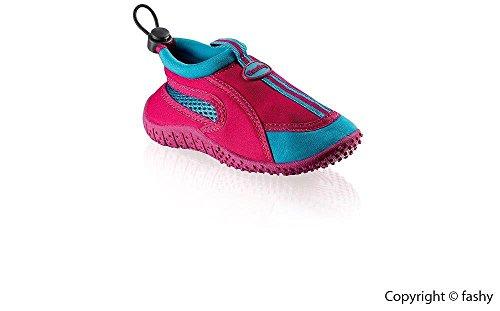 Fashy dehag-zapatos Guamo fuchsia-hellblau