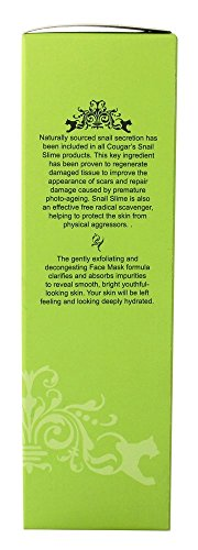 Cougar Beauty Products Snail Slime Facial Mask, 120 Gram