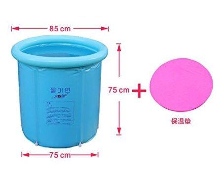 Vasca Da Bagno Plastica Portatile : Pieghevole vasca da bagno ripiegabile e portatile in plastica