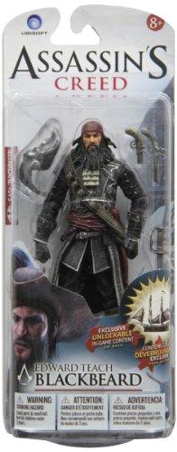McFarlane Toys Assassin's Creed Series 1 Blackbeard Edward Teach-Action Figure (Best Assassins Creed Game Ever)