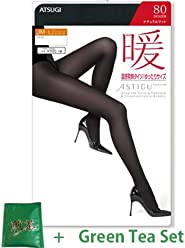 c6c3a7da7dd Atsugi Astigu Tights Dan Warming Hot Tights 80 Denier Loose Size JM - L -  271
