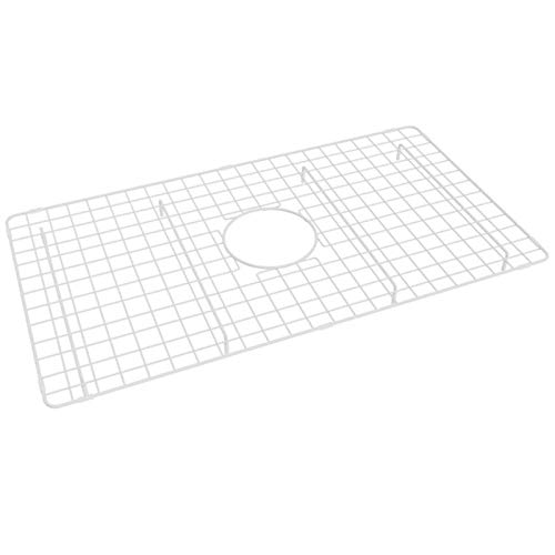 (ROHL WSGUM3018WH Wire Sink Grids, White)
