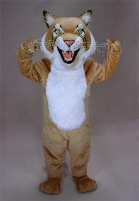 Fierce Wildcat Mascot Costume ()