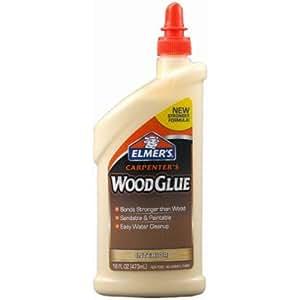 Elmer's E7020 Carpenter's Wood Glue, 16 Ounces