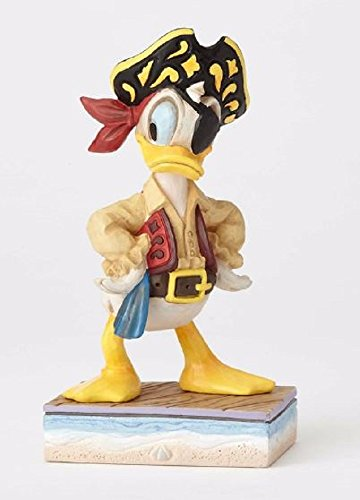 Jim Shore Disney Traditions by Enesco Donald Pirate - Jim Donald Shore Duck