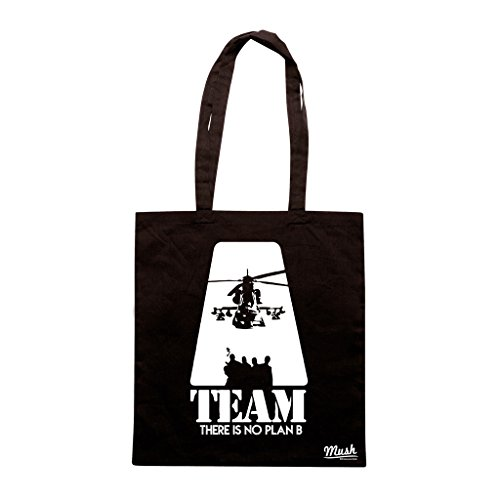 Borsa A TEAM - Nera - FILM by Mush Dress Your Style