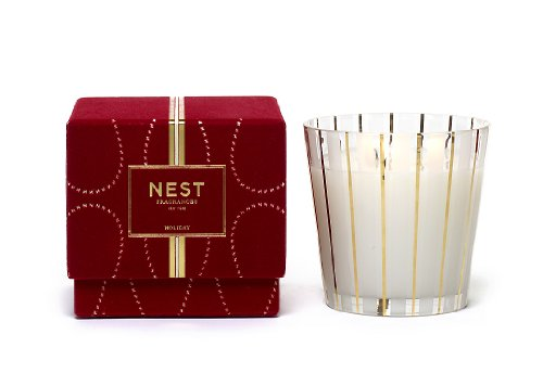 Nest 3 Wick Candle - NEST Fragrances 3-Wick Candle- Holiday , 21.2 oz