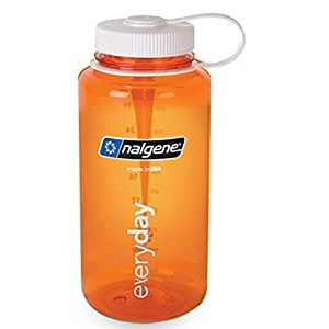 nalgene translucent wide mouth bottle with blue lid by nalgene sports outdoors. Black Bedroom Furniture Sets. Home Design Ideas